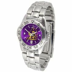 NCAA East Carolina Pirates Ladies Anochrome Sport Watch with Stainless Steel Band by Football Fanatics. $66.95. Stainless steel band with removable links. Date indicator. Team logo on face. Team color dial. Scratch resistant crystal. East Carolina Pirates Ladies Anochrome Sport Watch with Stainless Steel BandScratch resistant crystalStainless steel band with removable linksTeam color dialOfficially licensed collegiate productDate indicatorReady to wrapTeam logo on fa...
