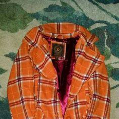 Plaid pea coat No stains or holes Dollhouse Jackets & Coats Pea Coats