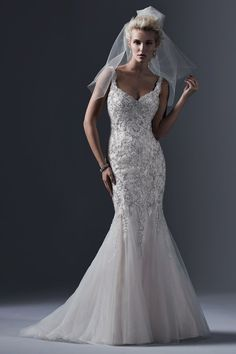 Wedding gown by Sottero & Midgley
