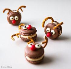 Suklaamacaronit   Reseptit   Kinuskikissa