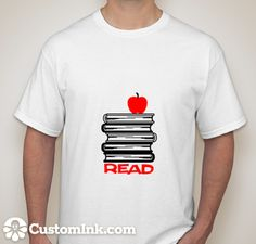 6228afa4b9 Custom Ink Design  read . Shirt Designs ...