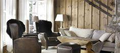 Ny lun hytte med interiørbeis   Vakre Hjem Blogg