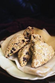 Chocolate Chip Zucchini Scones \\ PasstheSushi.com