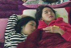 Tiffany Yoona SNSD sleeping time