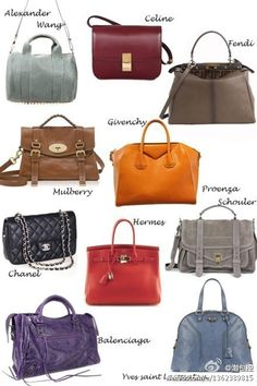 change your purse everyday~