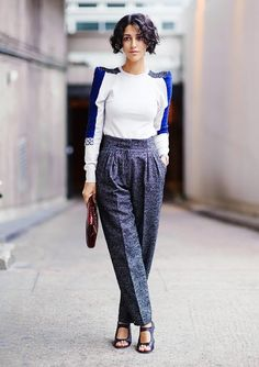 Yasmin Sewell, fashion director of Style.com. #WWW10