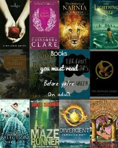 Books you must read before you're an adult