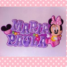 Baby Shower Souvenirs, Mickey Mouse, Names, Country, Ideas, Decorated Notebooks, Diy Wedding Decorations, Colorful Drawings, Pretty Images
