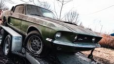 Amazing Barn Find 1967 Shelby Mustang >>> Learn more! – >> Learn more! 1967 Shelby Gt500, Ford Mustang Shelby, 1973 Mustang, Rat Rods, Route 66, Ford Classic Cars, Lifted Ford Trucks, Rear Wheel Drive, Abandoned Cars
