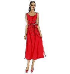 V8469 | Misses' Dress | Very Easy Vogue | Vogue Patterns