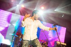 Der letzte Gig des Abends am Samstag: Adel Tawil. Foto: Ulli Scharrer