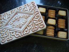 Marks & Spencer custard cream tin