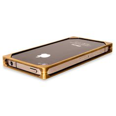 Solid Brass iPone Case. I may have died and gone to techie heaven....