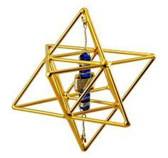 "3.5"" Buddha Maitreya Star Tetrahedron with Etheric Weaver - Meditation & Healing Tool by Buddha Maitreya. $250.00"