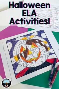 Read this blog post to find activities and ideas for spooky season in your ELA classroom! Practice real skills while having fun with figurative language.