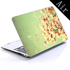 Spring Flower Design Full-Body Protective Plastic Case for 11-inch/13-inch New MacBook Air – USD $ 19.99