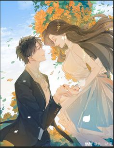 Anime Art Girl, Manga Art, Manga Anime, Anime Love Couple, Couple Art, Anime Couples Manga, Cute Anime Couples, Romantic Manga, Digital Art Girl