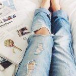 Ετσι θα καθαρισετε τα ΠΑΝΤΑ στο μπανιο! All Jeans, Ripped Jeans, Destroyed Jeans, Denim Jeans, Holey Jeans, Mode Style, Style Me, Look 2017, Jean Vintage