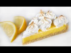 Citromos pite (Szécsi Szilvi) - YouTube Gelato, Tiramisu, Camembert Cheese, Dairy, Youtube, Food, Ice Cream, Essen, Meals