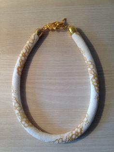 Spirale au crochet en perles de rocaille 15 : Collier par les-creations-de-loise