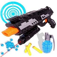Tevelo 2-in-1 Shooting Gun Toy Foam Dart and Water Polymer Ball  A toy that every child will be thrilled with, perfect gift for christmas! Sale:$19.99 http://amzn.to/2fva4Qu https://dashburst.com/michaela09/316