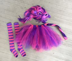 Items similar to Cheshire Cat Costume women girls Alice in a Wonderland dress up cosplay Halloween tutu Disney bound family alice outfit on Etsy Running Costumes, Boy Costumes, Costumes For Women, Alice In Wonderland Characters, Alice In Wonderland Costume, Diy Cheshire Cat Costume, Gato Alice, Fete Halloween, Toddler Halloween