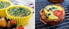 10 Healthy Ways to Get on the Egg Muffins Trend via @dailyburn