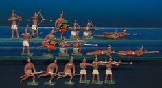 antike Zinnfiguren * 19 Indianer kämpfend im O.K. * Georg Heyde um 1900   eBay