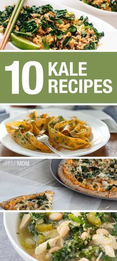 Fabulously healthy recipes using kale!