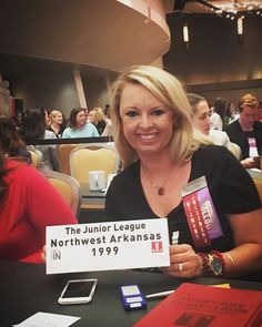 I got to do one of my favorite things this morning... #VOTE  And it was even more special because I had the distinct honor of voting on behalf of the Junior League of Northwest Arkansas at the international Annual Conference! #jlnwa #jlac16 #womenbuildingbettercommunities #leadlocal #juniorleague #supportlocal