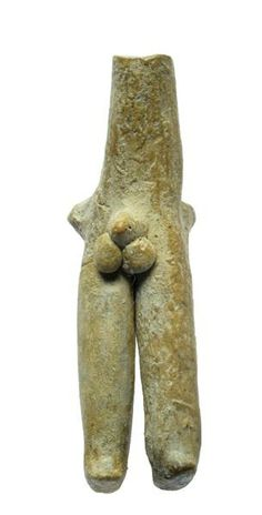 Figurine Anthropomorphic, Male ImagePeriod: Pottery Neolithic