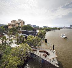 cardno s.p.l.a.t. & arkhefield: 'river quay' south bank parklands brisbane - designboom | architecture & design magazine.