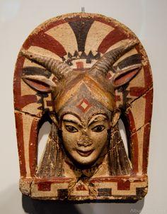 Pieza arte etrusco Museo Altes