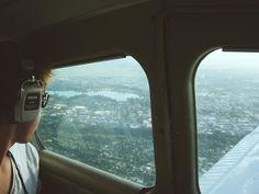 A scenic flight over Hamilton #throwback