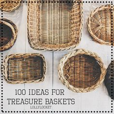 100 Ideas for Treasure Baskets – Lolly Locket Montessori Toddler, Toddler Play, Baby Play, Montessori Bedroom, Montessori Education, Baby Education, Baby Treasure Basket, Baby Room Ideas Early Years, Heuristic Play