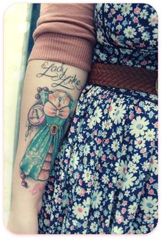 girlie tattoo I absolutely adore this is soooo me. =)