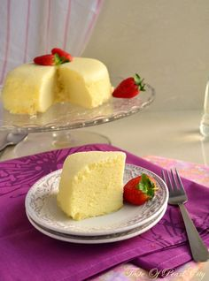 Did you ever wonder how Japanese Cotton Cheese Cake gets so light and fluffy? Here's how!
