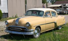 1954 Pontiac Chieftain Deluxe 4 door. my dad had one exactly like this when I was 12