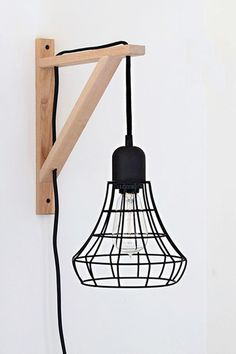 Wire Sconce - The Coolest Hacks On Pinterest For The Modern Home - Photos