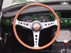 Les Leston steering wheel