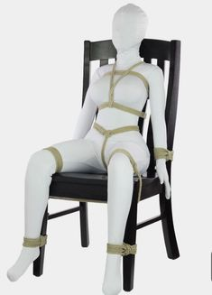 This would help me get more work done with you around. And to tease you more. With my tongue and fingers. And toys. Kidnapped Girl, Macrame Dress, Chair Ties, Dom And Subs, Rope Tying, Rope Art, Latex, Character Poses, Womens Fashion