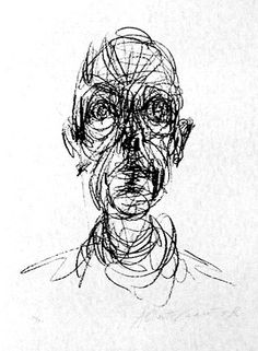 Alberto Giacometti - 1901-1966 sketch