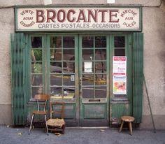 Brocante in Frankrijk