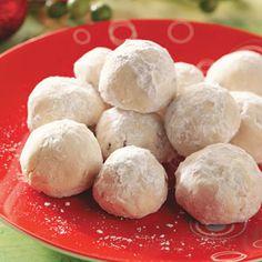 Cherry-Almond Balls Recipe   Taste of Home Recipes
