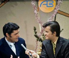 Bob Braun & Dick Clark..Bob's son Rob Braun is still a news caster on Cincy's Channel 12 News
