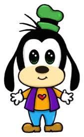 Goofy he is so adorable Cute Disney Drawings, Cute Kawaii Drawings, Kawaii Art, Cartoon Drawings, Easy Drawings, Kawaii Disney, Disney Art, Kawaii Doodles, Disney Doodles