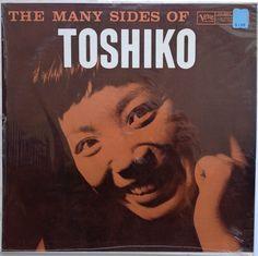 Toshiko Akiyoshi- The Many Sides of Toshiko. Label: Verve MGV-8273 (1958) Design Burt Goldblatt.
