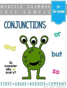 Conjunctions   1st Grade Grammar   Mini Lesson