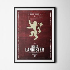 House Lannister - Hear Me Roar - Game Of Thrones