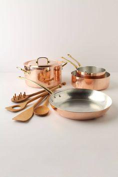 Copper cookware #wishlist